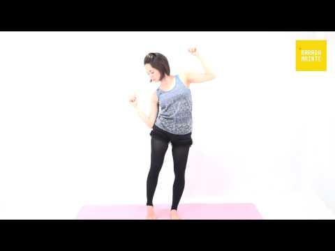 18腹斜筋の加圧トレーニング(シェイク)