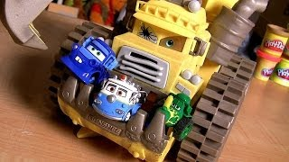 Cars Screaming Banshee Eating Mater Lizzie Mack Tractor Tipping Cars Mini Adventures Disney Pixar