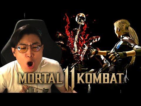 Mortal Kombat 11 - NEW Cassie Cage & Kano Trailer!! [REACTION]