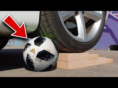 YOU WONT BELIEVE HOW STRONG IS THE WORLD CUP SOCCER BALL!!
