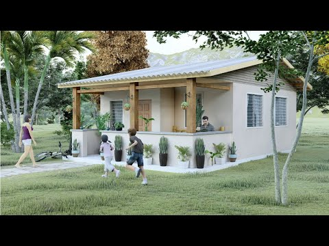 Small House Design | 38.5 Sq.m. | 2 Bedrooms