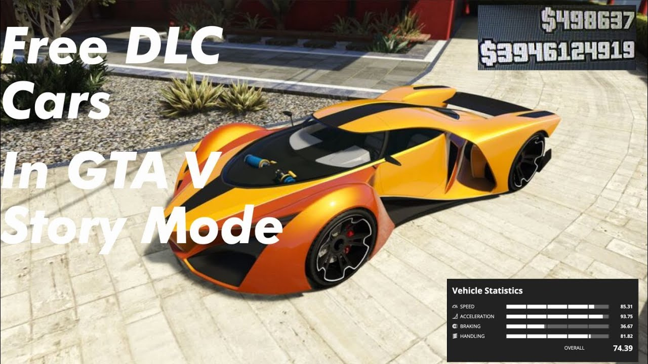 HOW TO GET FREE SUPER CARS IN GTA 5 STORY MODE!!!!!