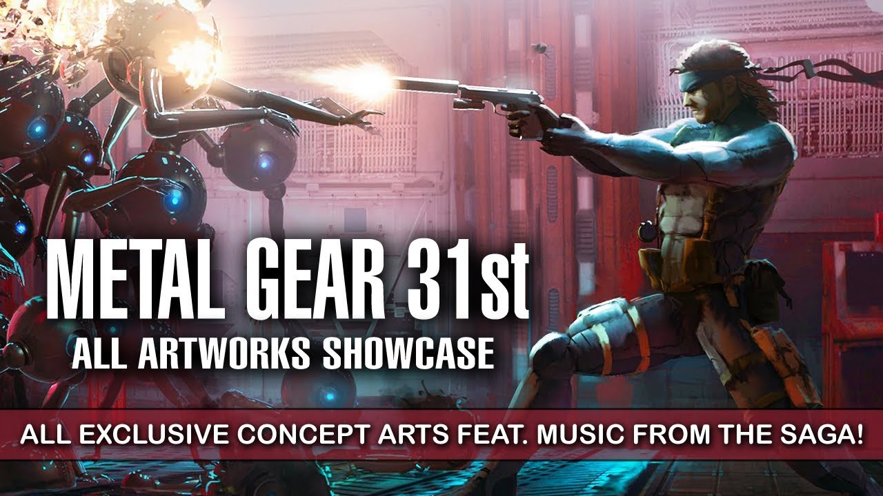Metal Gear Solid Movie All Concept Arts Feat Music From The Saga 31st Anniversary