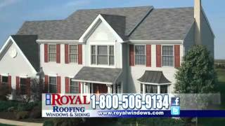 Royal Windows & Siding - Residential Roofing Announcement