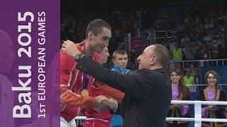 Teymur Mammadov Wins The Men's Light Heavyweight (81kg) | Boxing | Baku 2015