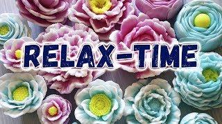 Мыловарение Relax-time 🌼🌸 Как сделать цветы из мыла своими руками 🌼 Мастер-классы по мыловарению