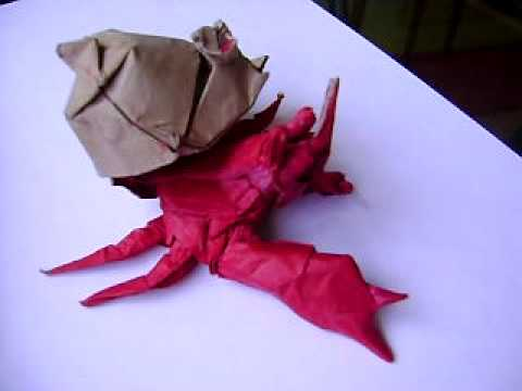 26 Great Origami Models for When You're Feeling a Bit Crabby | 360x480