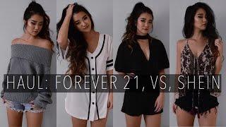 HAUL: Forever 21, VS, SheIn | October 2016