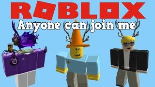 Late night roblox stream! Playing with subscribers!