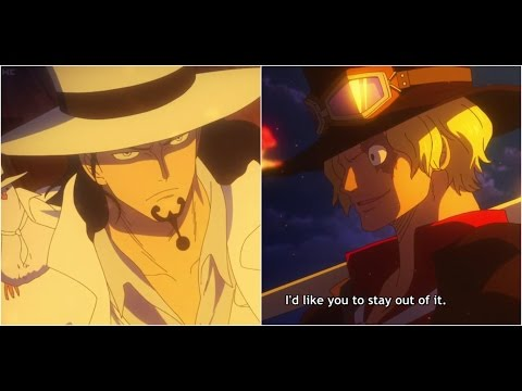 Rob Lucci vs Sabo One Piece Gold Full Fight Full Movie Eng Sub [720p]