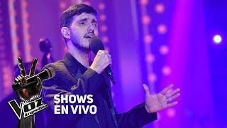 "Shows en vivo #TeamSole: Lucas Belbruno canta ""Pasional"" de ..."