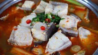 Cách nấu LẨU CÁ BỚP CHUA CAY Siêu Ngon và Hấp Dẫn - Món Ăn Ngon