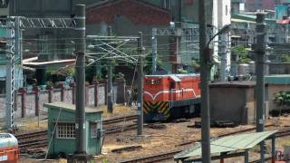 [HD] The Taiwan TRA up single head GM EMD G12 R20 R34 depart the Changhua Station