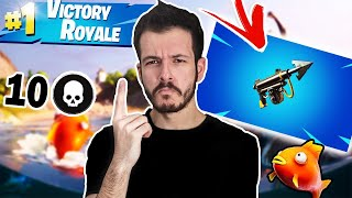 LOOT ΜΟΝΟ ΑΠΟ HARPOON CHALLENGE! Fortnite Chapter 2 Battle Royale