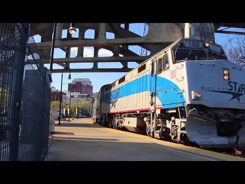 Music City Star - Departing Riverfront Station - Nashville, TN