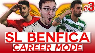 NEW SIGNINGS & The DERBY de LISBOA! - FIFA 19 SL BENFICA CAREER MODE (#3)