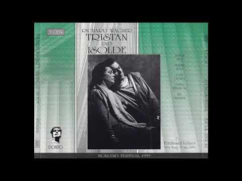 """""""Tristan und Isolde"""" Holland 1959 / Ferdinand Leitner CD"""