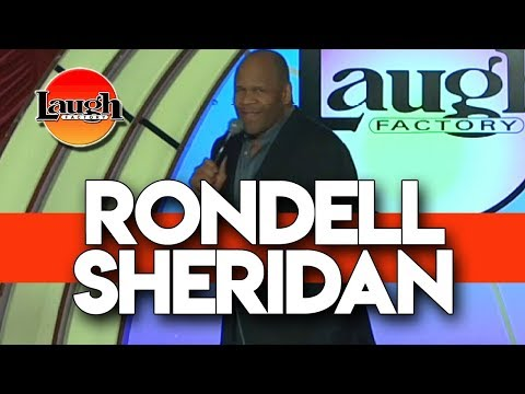 Rondell Sheridan | Cranberry and Schnapps | Laugh Factory Las Vegas Stand Up Comedy