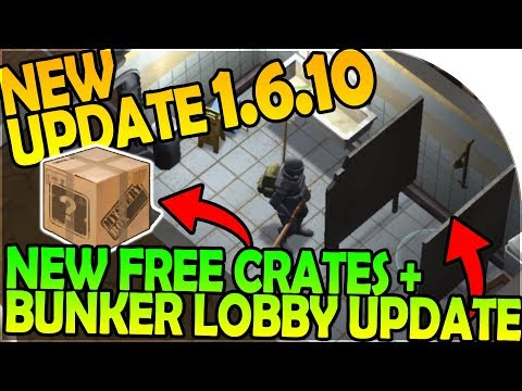 NEW UPDATE 1.6.10 - NEW FREE CRATES + BUNKER LOBBY UPDATE - Last Day On Earth Survival 1.6.10 Update