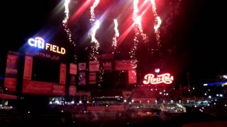 Bombs bursting in air at Citi Field!