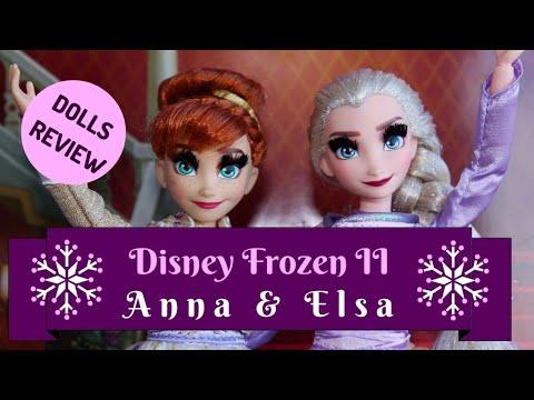 Disney Frozen II Elsa and Anna Arendelle Deluxe Dolls Review || Margaret Ann