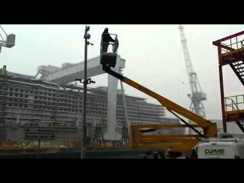 Dome Security Technologies - Cantiere Navale a Monfalcone