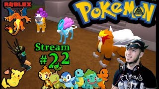 POKEMON in Roblox Ch.#21, Friday the 13th! 1st time playing PC(Max Graphics) #22nd Stream