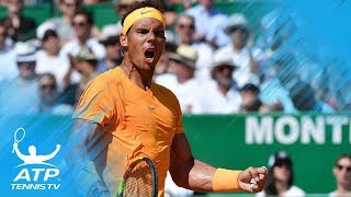 Top 20 ATP Tennis Shots from April 2018