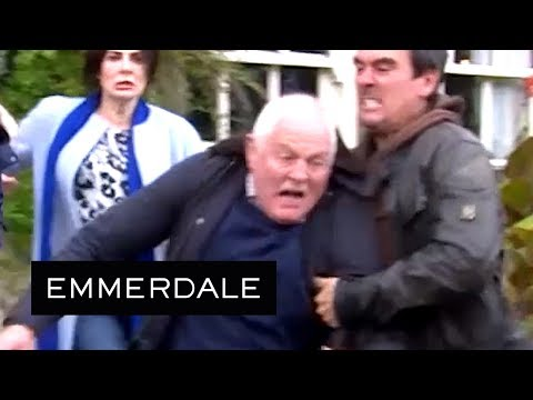 Emmerdale  Cain Throws Eric Out of The Woolpack!