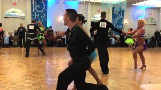 Professional American Rhythm : Swing – 2016 Snow Ball DanceSport Competition