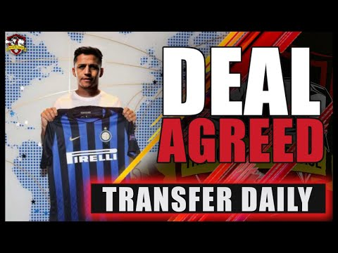 Alexis Sanchez to sign for Inter Milan! Man United Transfer News