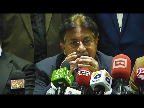 Pervez Musharraf, Former President of Pakistan   Press conference