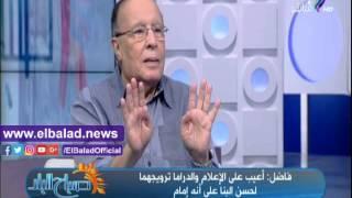 محمد فاضل: مسلسل الجماعة قدم سيد قطب «عالم».. فيديو