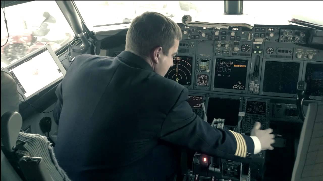 B737 Runaway Stabilizer  Grasp and Hold technique