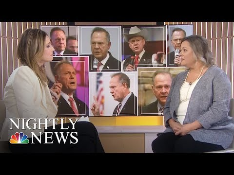 Roy Moore Accuser Stands By Her Story | NBC Nightly News