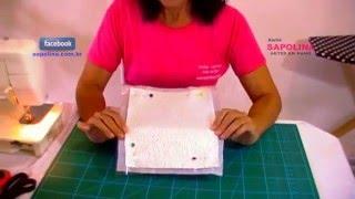 Facilitando a costura de etaflon e plastico sem o uso de calcador especial