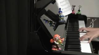 2017 ピアノで!スプラトゥーン/キミ色に染めて→イマ・ヌラネバー! Splatoon piano thumbnail