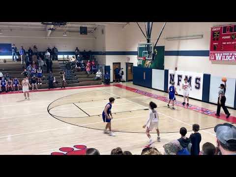 North Forsyth Middle School Buzzer Beater - Brady Holbrook