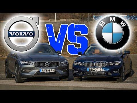 Volvo V60 D4 vs BMW 320d: melyik dízel kombi a jobb?