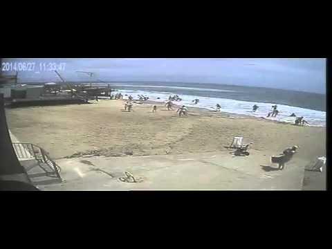 Цунами в Одессе. Tsunami in Odessa.