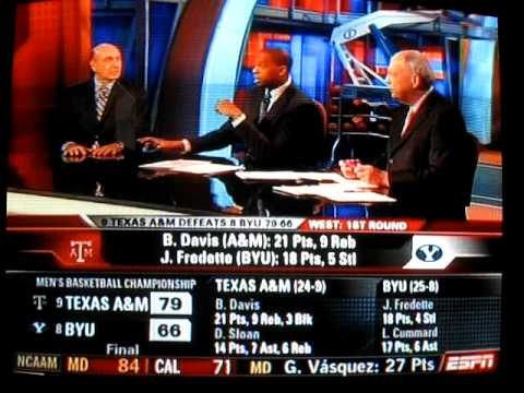 ESPN on Mark Turgeon and Texas A&M - NCAA Tourney 2009