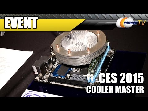 Advancing CPU Cooling Technology - Cooler Master at CES 2015