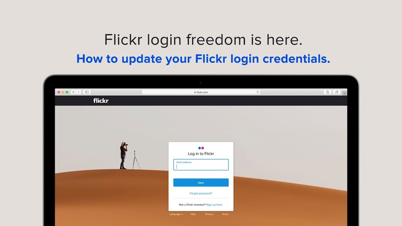 After more than 10 years, Flickr frees its login system from