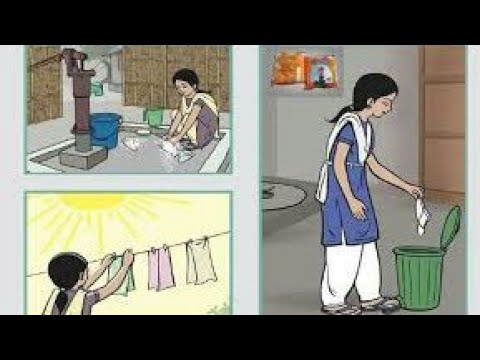 Menstrual cycle hygiene animation, why do women have periods,Menstruation cycle film