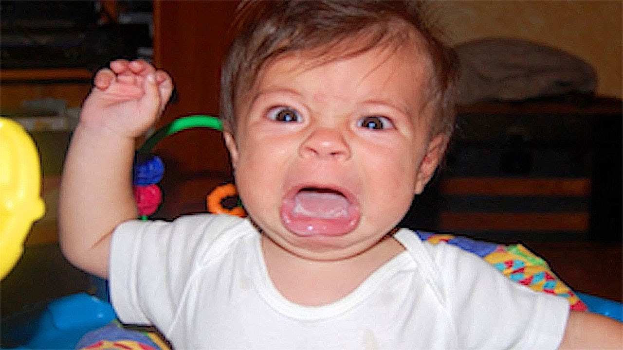What Happens When Babies Go Angry Try Not To Laugh Funny Babys  New