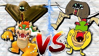 SMG4 DRAWING BATTLE! (Mario, Bowser, Bob, Saiko and Shroomy)