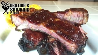 Ribs And Mac & Cheese On The Green Mountain Grill