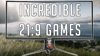 INCREDIBLE GAMES TO PLAY IN 21:9 (Ultrawide)