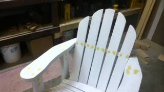 My Adirondack Chair Project
