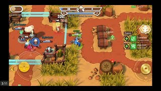 West Legends: 3V3 MOBA (by Taihe Games) - action game for android - gameplay.
